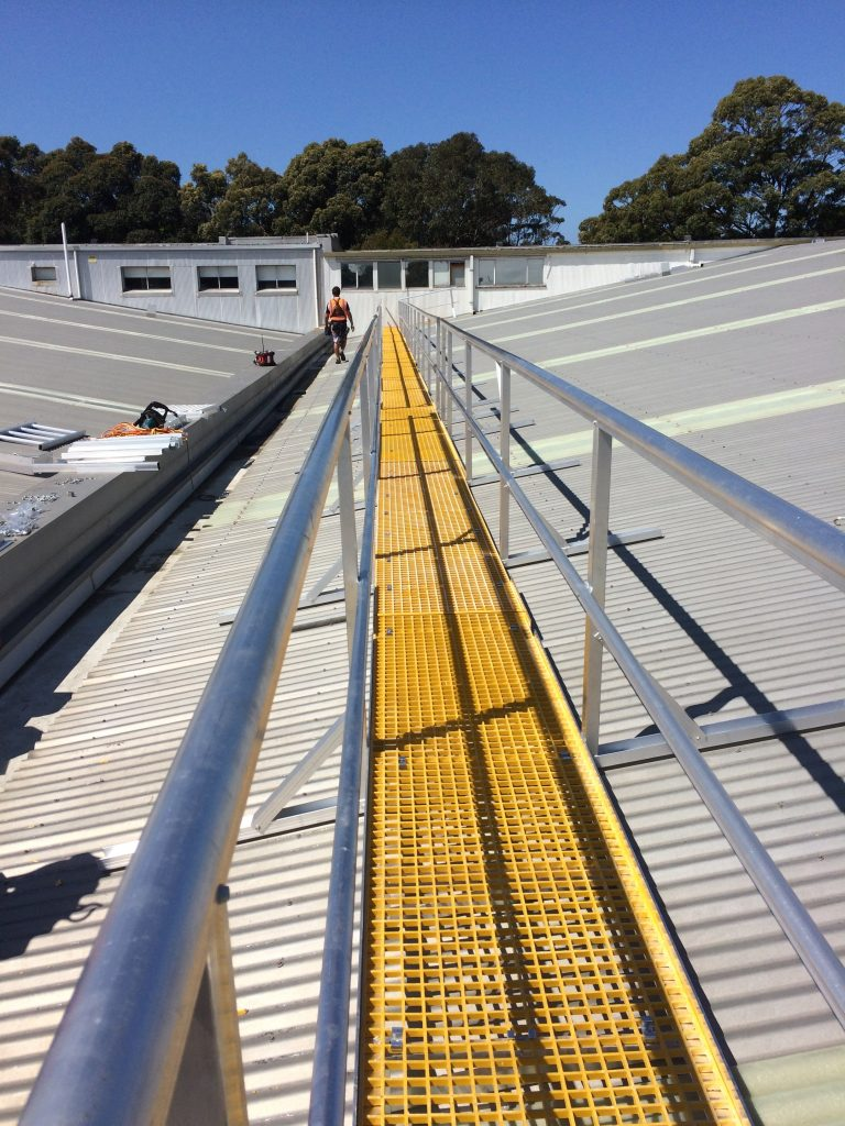 Safety Systems Metal Roofing Project
