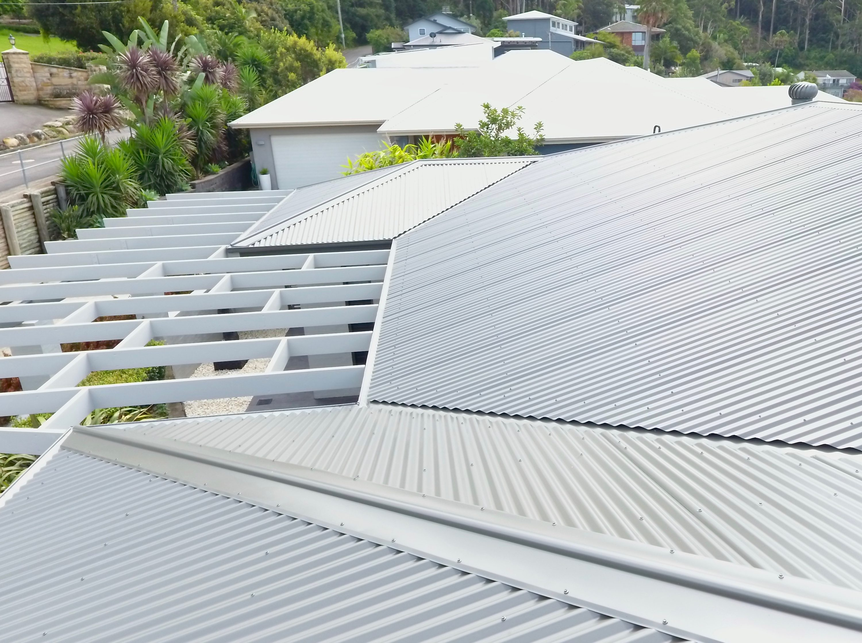 Wamberal Colorbond Metal Roof